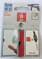 """Sega a tazza per trapano LUX 102019 19mm 3/4"""" profi legno duro pannelli gesso"""