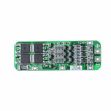 3s 20a 12.6v Cell 18650 Li-ion Lithium Battery Charger BMS Protection PCB Board