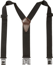 Dickies Mens Perry Y-Back Suspenders Hook Clips To Attach To Belt One Size Black
