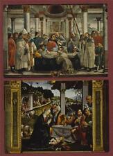 FIRENZE Basilica S. Trinita Ghirlandaio Francis  Postcards Unused ART Italy la.6