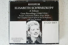 Elisabeth Schwarzkopf A Tribute Great Recordings 1946-1954 3 CD Box (Box 14)