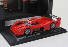 Toyota GT One Street ( 1999 ) rot / Minichamps 1:43