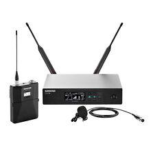 Shure QLXD14/85 Digital Wireless Lavalier Microphone System w/WL185 G50 470-535