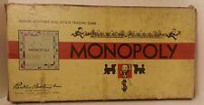 Vintage MONOPOLY Board Game PARKER BROS 1954