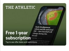 The Athletic 1-Year Subscription Code FAST DELIVERY (T-Mobile Offer)