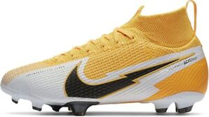 Nike Superfly 7 Elite FG Jr Flyknit Soccer Cleats AT8034-801 Size 6Y WMNS 7.5