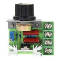 2000W SCR Electronic Voltage Regulator Speed Controller Dimmer Thermostat TN2F