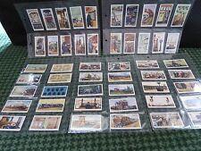 FULL SET OF 50 WILLS CIGARETTE CARDS RAILWAY EQUIPMENT (1930s) IN SLEEVES