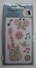 10cd TATTOO IT cell phone STICKER guitar rock decorate kindle laptop bling decal