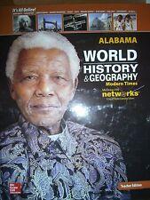 World History & Geography, Modern Times Alabama Teacher Ed 2015 9780076607204