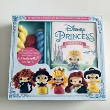 Disney Princess Crochet Kit Yarn Pattern Doll New Make Cinderella Ariel