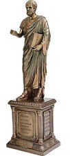 Aristotle Greek Philosopher Statue Bronze Sculpture by Veronese Studio WU75527