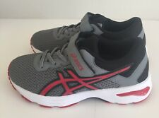 "NEW ~ ASICS ""GT-1000 Youth Grey/Black/Red  Sneakers~~Size 3"