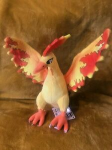 "Pokemon Moltres 13"" / 33cm Plush Soft Toy Teddy - BRAND NEW & Tagged"