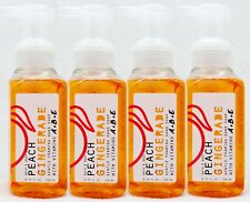 4 Bath Body Works PEACH GINGERADE Gentle Foaming Hand Soap Vitamin A E B