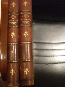 rare journal exposition universelle 1889  reliées en 2 tomes dumas de fourcaud