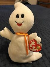 TY BEANIE BABIES ~ SPOOKY THE GHOST STYLE 4090 10-31-95 w/tags