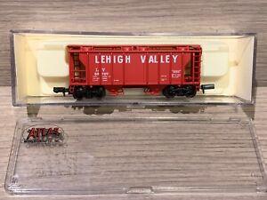 N Scale Atlas 2 Bay PS-2 Hopper Lehigh Valley 3170 LV 50707