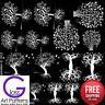 Tree of Life I Fusing Decal Glass Ceramic Waterslide Enamel Black-White Hi Fire