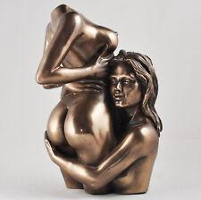 EROTICO Nudo Femminile Bronzo Figura Statua di lesbiche gay SCULTURA SEXY desiderio 01110