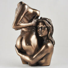 Erótico Desnudo De Bronce Mujer Figura Estatua lesbianas Gay Escultura deseo atractivo 01110