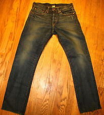 NSF CLOTHING for MEN SIZE 30 X 32 JAPANESE SELVEDGE DENIM STRAIGHT FIT APACHE