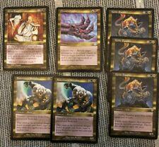 7x Dual Rare Uncommon Magic the Gathering Cards mtg LP Grim Feast Crosis's Noble