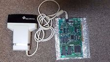 2 Handheld Scanners and Ics Card for Computers vintage