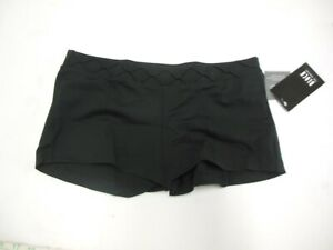 Dance Bloch Black Booty Shorts V Link Waist Band Ladies Small Adult R5904