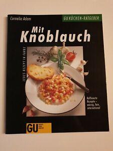 Kochbuch GU Cornelia Adam - Mit Knoblauch