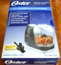 Oster 3 Cup Chopper with Accessories, FPSTMC3321, Brand New