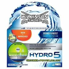 WILKINSON SWORD HYDRO 5 GROOMER / POWER SELECT BLADES - 4 PACK