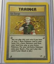 Trainer Gym Heroes Holofoil Rare Pokémon Individual Cards