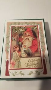 VINTAGE CHRISTMAS CARDS lot of 20  GREETING CARDS/ENVELOPES