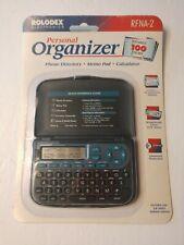 Rolodex Electronics Personal Organizer Rfna-2 Phone Directory, Calculator New