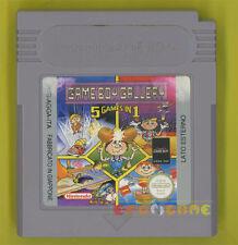 GAME BOY GALLERY 5 GAMES IN 1 Game Boy Gameboy Gb Vers Italiana » SOLO CARTUCCIA