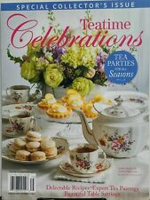 Teatime Celebrations Special 2017 Tea Parties For All Seasons FREE SHIPPING sb