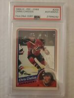 1984 O-Pee-Chee Chris Chelios Rookie Auto PSA DNA