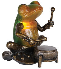 Ringo Musician Frog Playing Drum Table Lamp - Music Gift - New Light