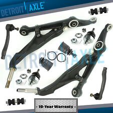 New 10pc Complete Front Lower Control Arm Suspension Kit for Honda Civic - No SI