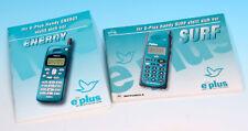 Gebrauchsanleitung Handy e-plus mobile phone energy surf Anleitung