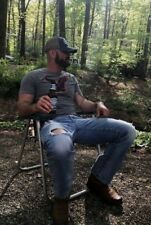 Muscular Country Redneck Hunk Beard Rugged Outdoor Man Male Guy PHOTO 4X6 F1778