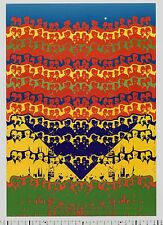 1973 Shinichi Tajiri HOMMAGE TO MY FATHER Quadrat-Print Psychedelic Art Poster