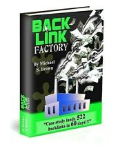 Back Link Factory Ebook pdf Resell Rights