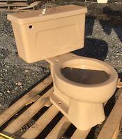 Vintage 1980 Mexican Sand Kohler Toilet -Complete- We Do Freight!