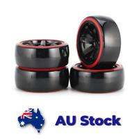 Beadlock Wheels/&Rubber Tire Tyre120//125//128//132MM Metal 2.2 For 1//10 RC Crawler