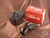 7664 - Canon Adapter AC6 Power Supply