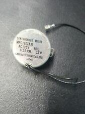 Microwave Synchronous Turntable Motor MPCJ60ZA31 120V 60Hz 3.5W