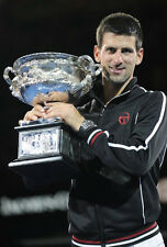 Novak Djokovic ‏ 10 x 8 UNSIGNED photo - P3 - Grand Slam Tennis Champion