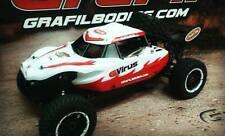 "HPI Baja 5B body - model: "" G-Virus"" for Team Chase cage by GraFil Bodies"